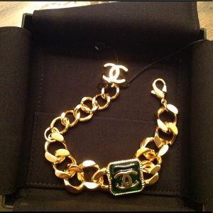 CHANEL 24k Goldp bracelet